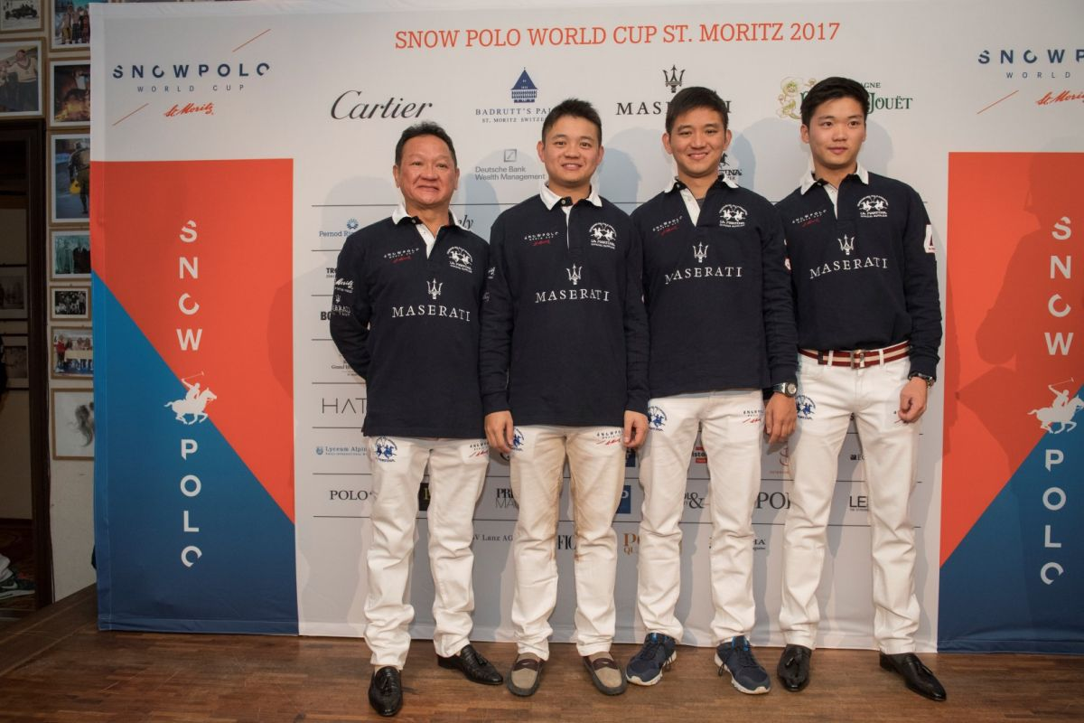 Players Presentation 2017 St Moritz Snow Polo World Cup